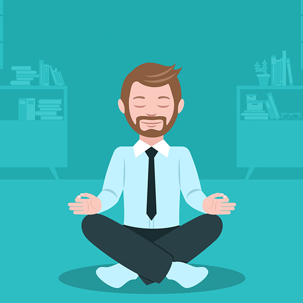 Técnicas de relaxamento. Pratique!