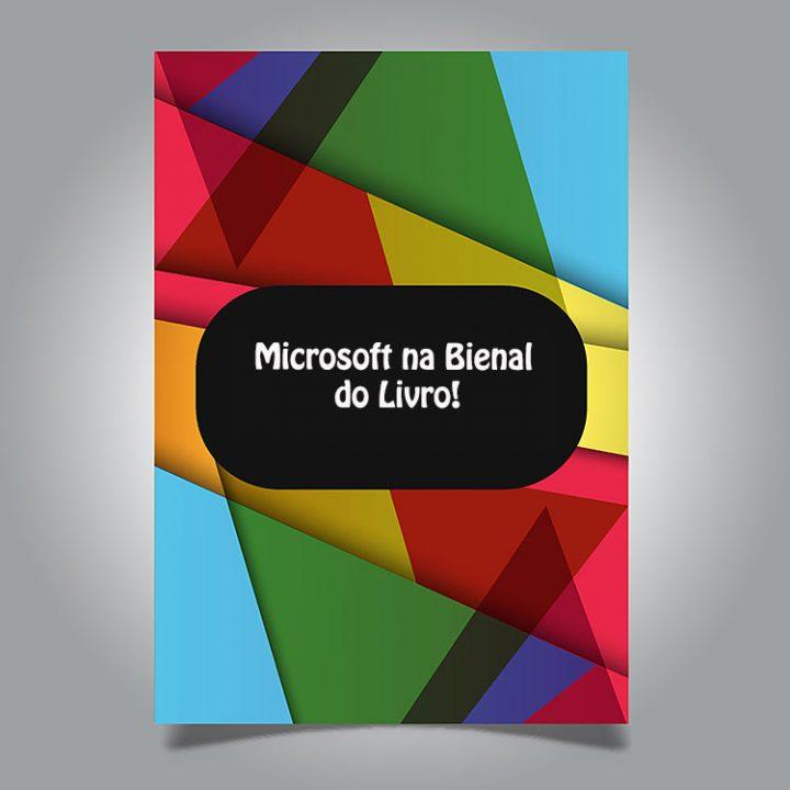 Microsoft leva inteligência artificial para a Bienal do Livro em SP