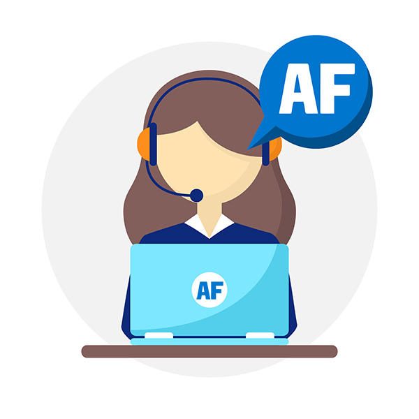 Atendimento eficaz é na AF Systems!