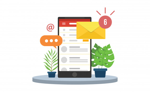 Configurar seus e-mails no celular