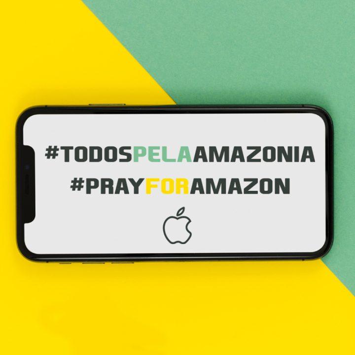 Apple faz doação para preservar Amazônia