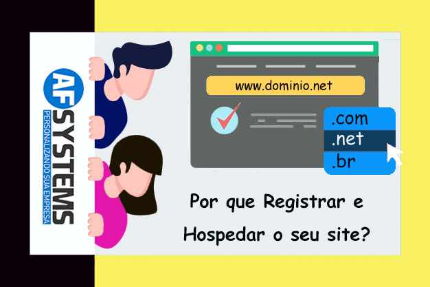 Por que Registrar e Hospedar o seu site?