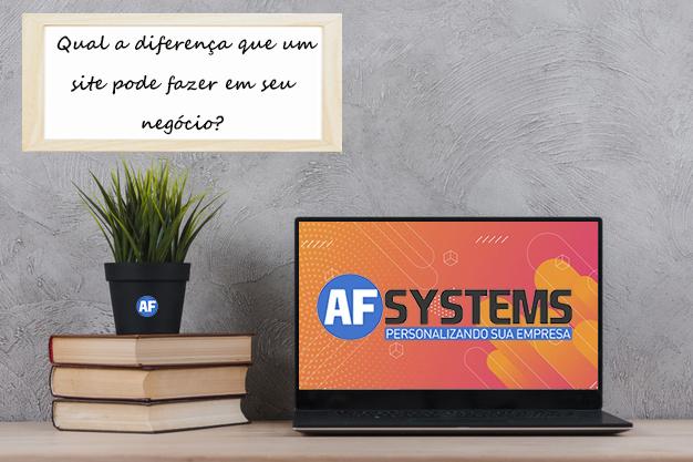 Saiba a diferença que um Site pode fazer no seu negócio!