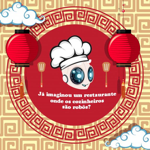 Já imaginou um restaurante onde os cozinheiros são robôs?