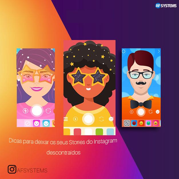 Dicas para deixar os seus Stories do Instagram descontraídos