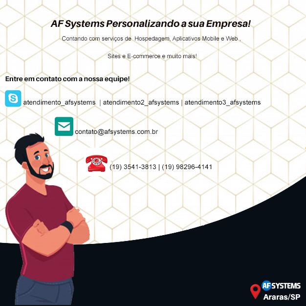 AF Systems Personalizando a sua Empresa!