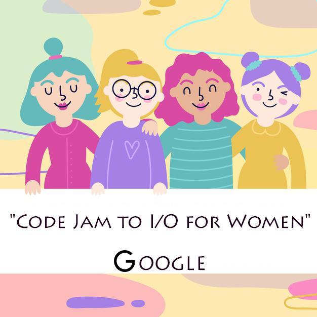 """Inscrições abertas para o desafio """"Code Jam to I/O for Women"""", do Google"""