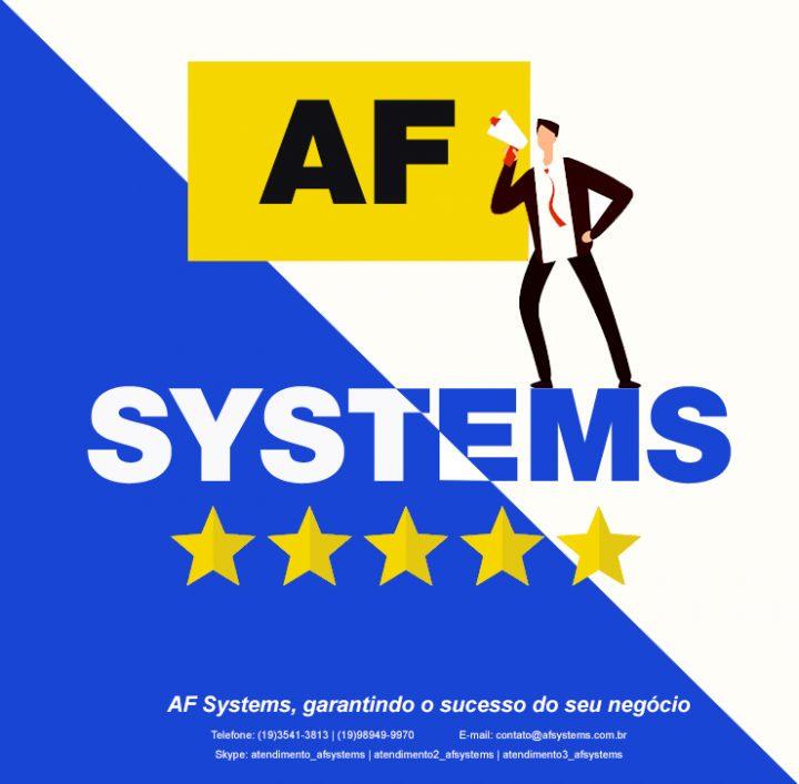 AF Systems, garantindo o sucesso do seu negócio.