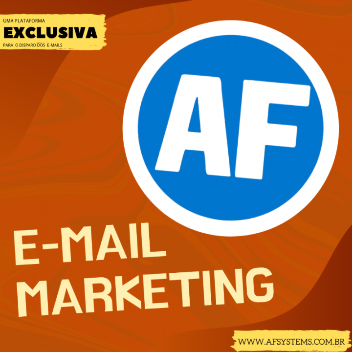 E-mails Marketing, AF Systems.