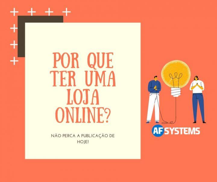 Por que ter uma loja online?