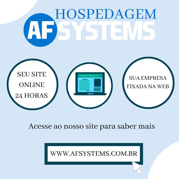 Hospedagem AF Systems