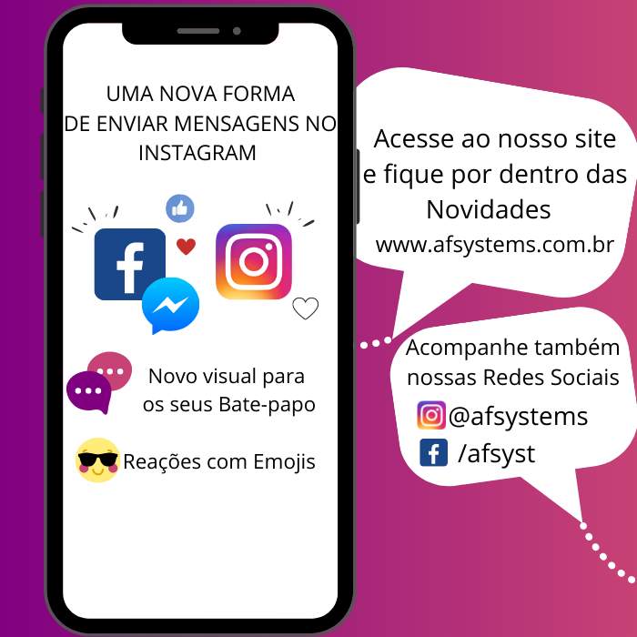 O Facebook começa a unir Instagram com os chats do Messenger