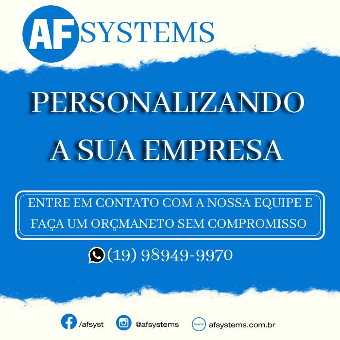AF Systems, personalizando a sua empresa!