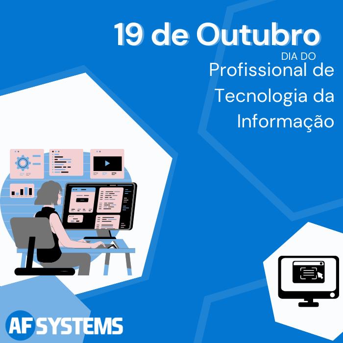 19 de Outubro Dia do Profissional de Tecnologia da Informação