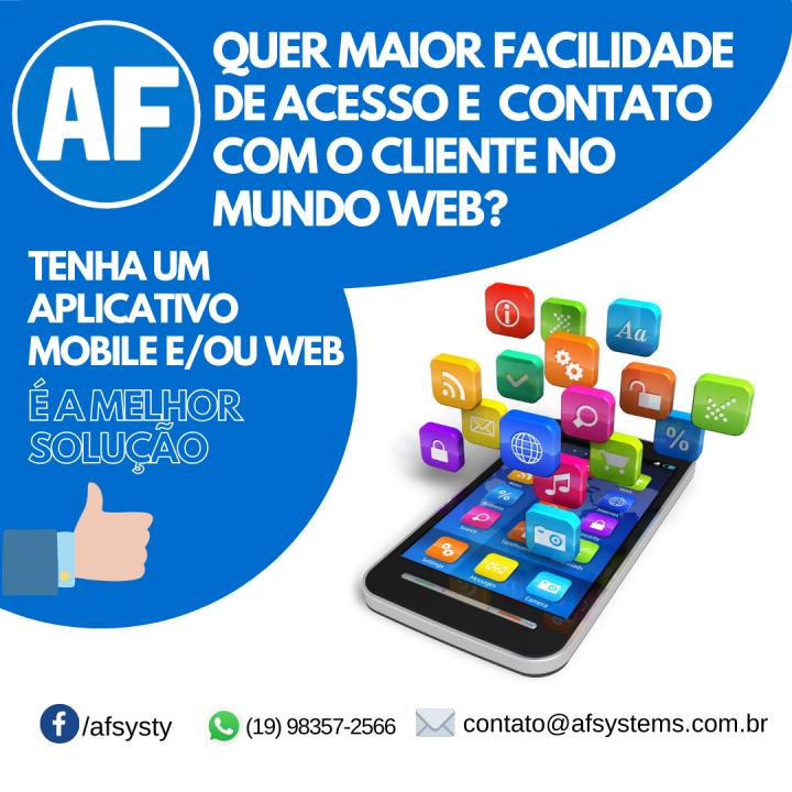 Aplicativo Mobile e/ou Web
