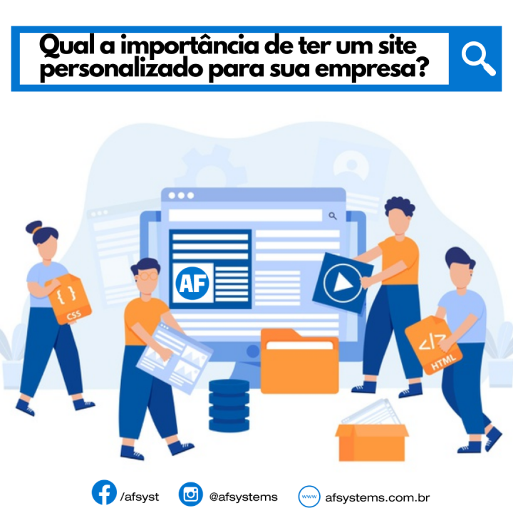 A importância de ter um site personalizado