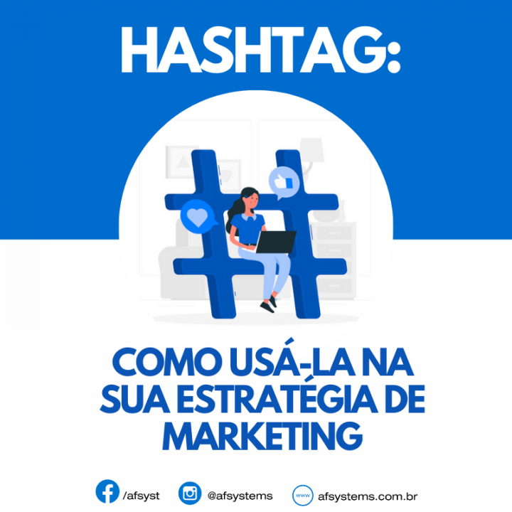 Hashtag na estratégia de Marketing
