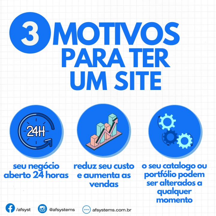 3 Motivos para ter um Site