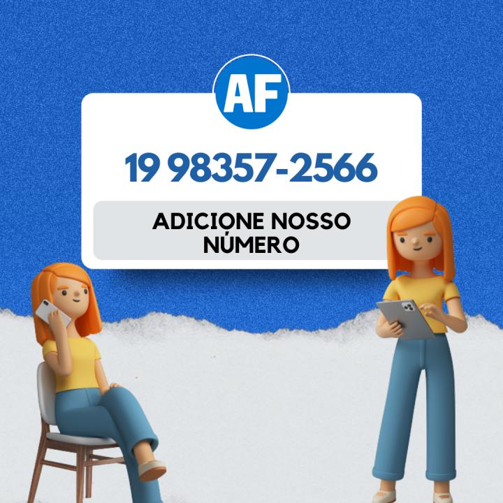 Adicione nosso número