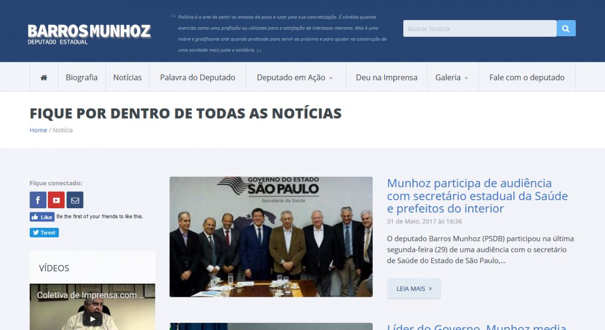 NOTÍCIAS BARROS MUNHOZ